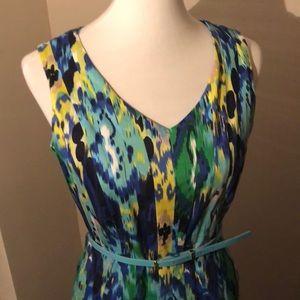 Ellen Tracy multi colored dress